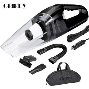 GRIKEY 24V Handheld Car Vacuum Cleaner 120W Portable Vacuum Cleaner Powerful For Car Auto Vaccum Cleaner Truck Big Suction 4600P