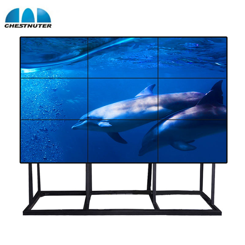 2020 Chestnuter Super Slim Tv Wall Deed 46 Inch 4K Lcd Video Wall Controller