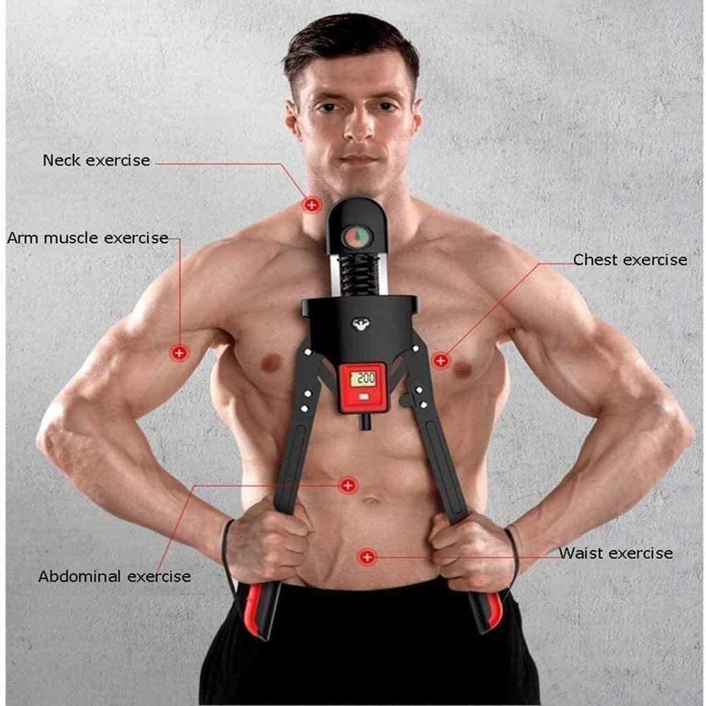 ARIZONE 50Kg Power Twister Spring Exerciser Arm Muscular Train Flexible Stretch
