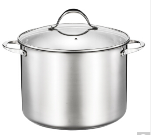 Hot selling stainless steel stockpot is used for cooking soup