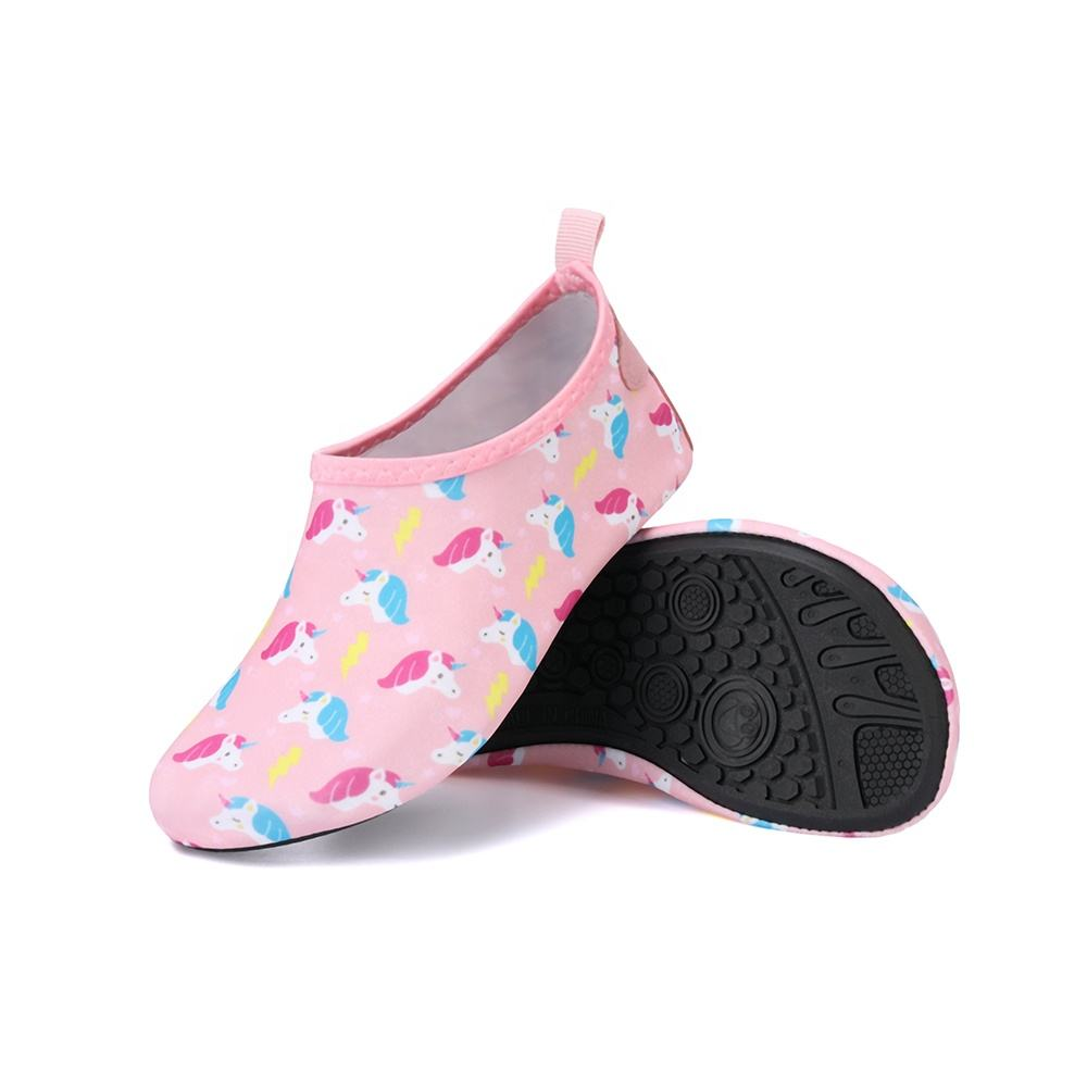 Cute Print Summer Children Water Sport Shoes Walking Swimming Beach Kids Aqua Skin Shoes
