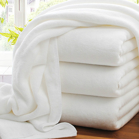 wholesale 100% Cotton bath towelling custom Soft Absorbent 5 Star white Hotel Plush Luxury White Bath Towel