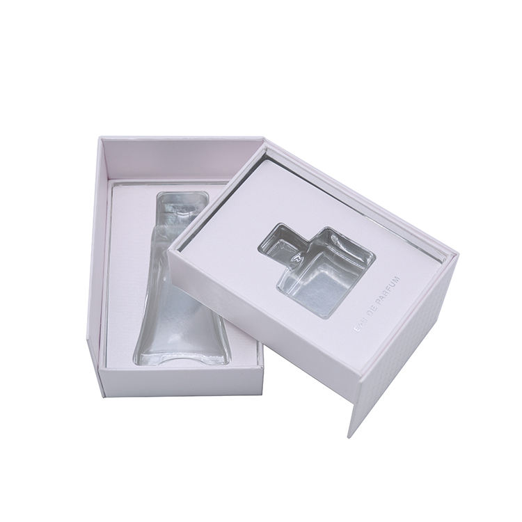 Custom Specialty paper Luxury Cosmetic Packaging Custom Double layer rotary type Perfume Gift Boxes