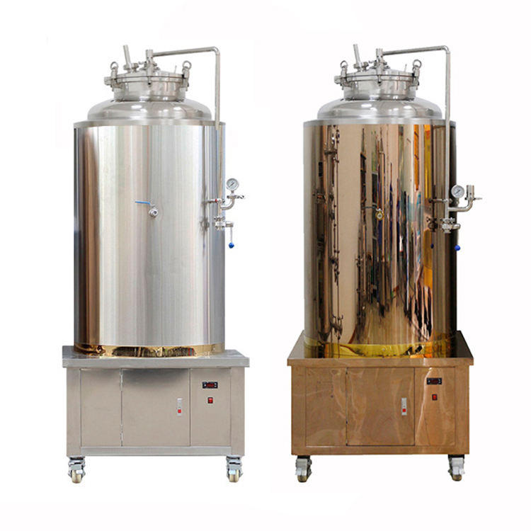 2 bar brew conical beer fermentation tanks 50L litre homebrew stainless conical beer fermenter