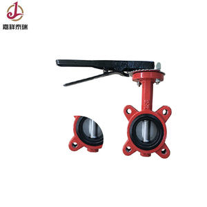 2 inch low temperature lug type lever operated butterfly valve