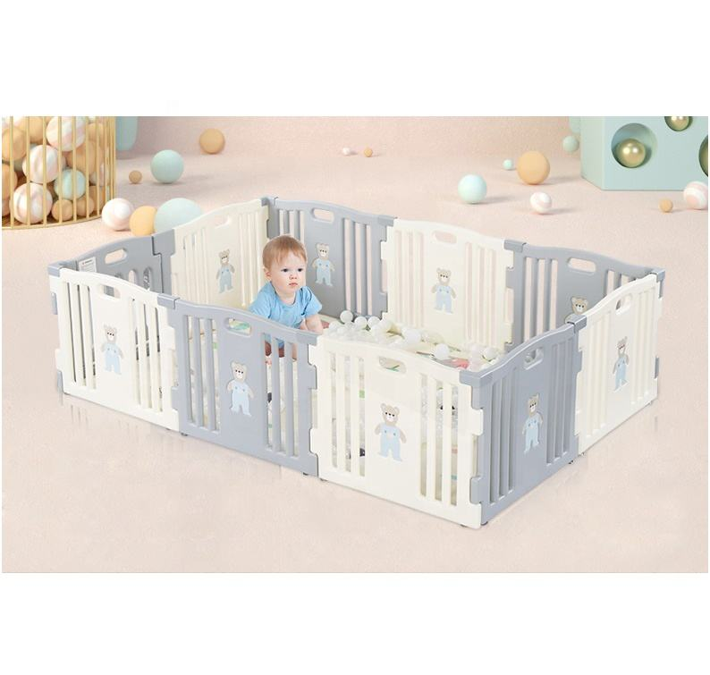 6-Panel Kids Baby Indoor Plastic Fences Play Pen Baby Playpen