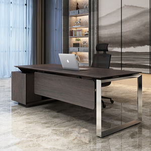 modern large unique high end office furniture contemporary black ceo luxury executive desk