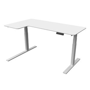 new style removable gray electric height adjustable table uplift metal leg