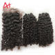 New Arrival Soft Kinky Curly Human Hair Extensions Raw Cambodian Hair Unprocessed, Cuticle Aligned Raw Virgin Hair 10