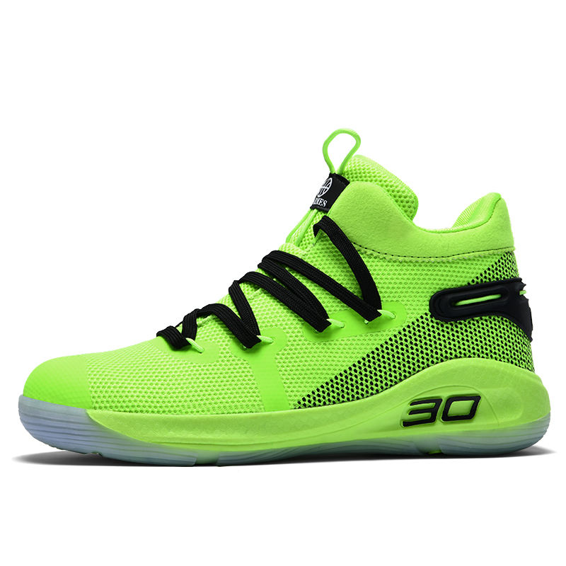 High Top Men's Basketball Shoes New Breathable Basketball Shoe For Men