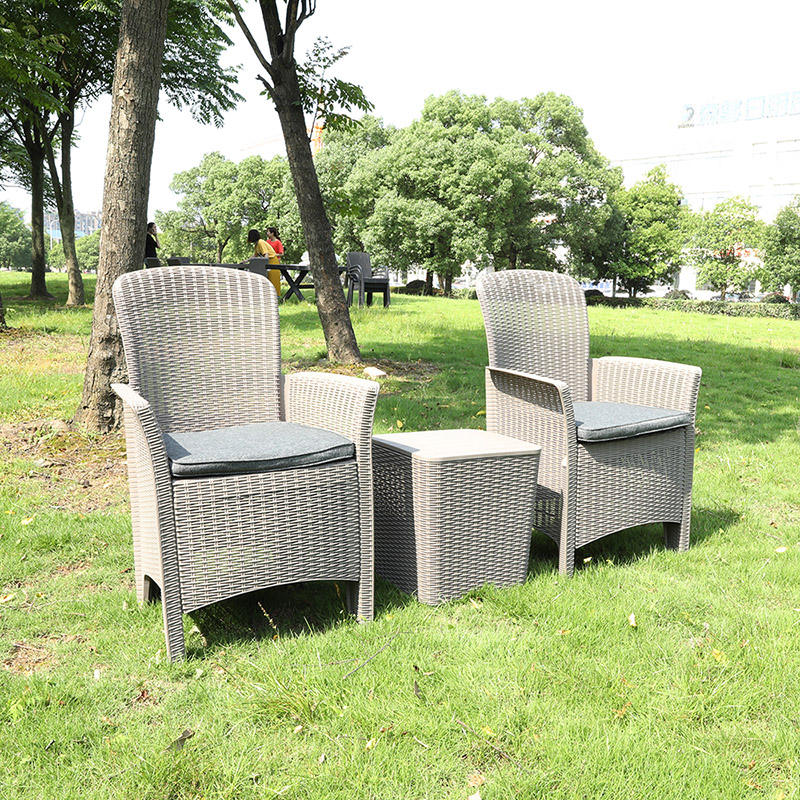 Outdoor Foldable Garden Furniture Patio Plastic Balcony Rattan chair