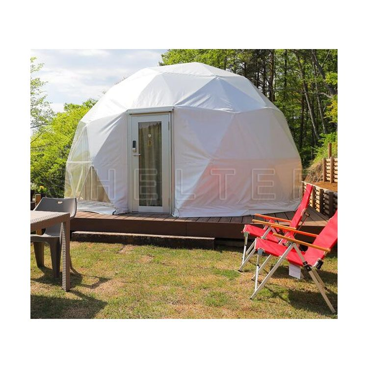 6-8 person Clear Dome House Luxury Hotel Tent for Glamping