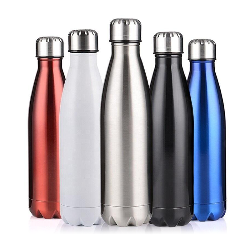 Free Sample Thermos Insulated Stainless Steel Drink Water Bottle Double Walled Stainless Steel Tumbler