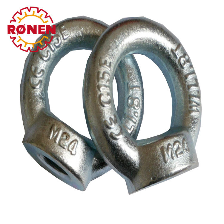 Metric A2 Stainless Steel Lifting Ring Eye Nuts 5 pcs M30-3.5 DIN 582