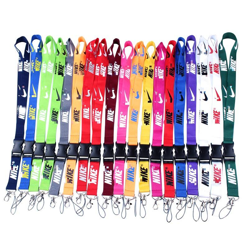 Various colors N ike lanyards at stocks for sale