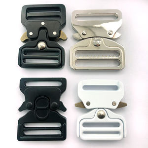 factory direct China supplier different colors side release metal buckles