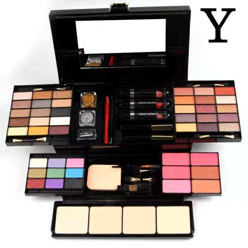 Ready To Ship 49 colors Miss Rose big Makeup Palette set With makeup set professional