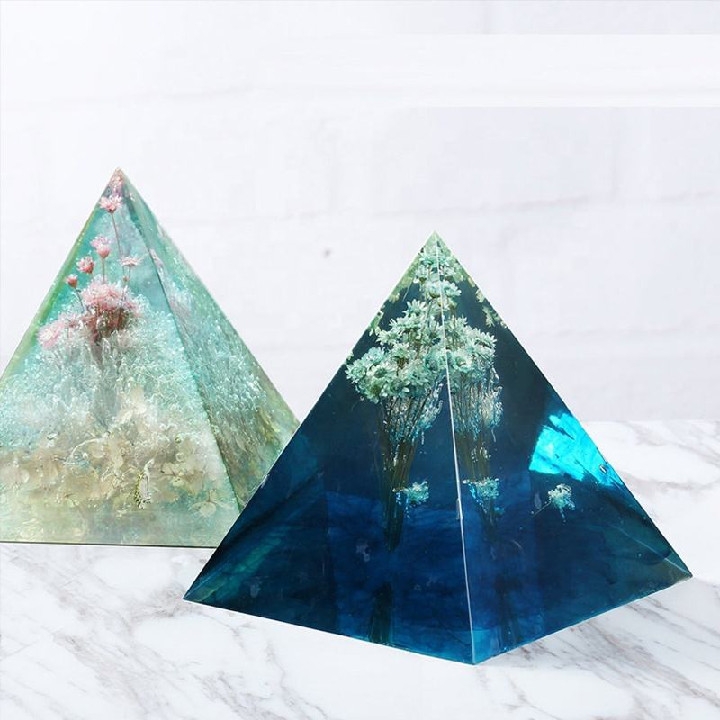Large Pyramid Molds Resin Silicone Molds for DIY Orgonite Pyramid