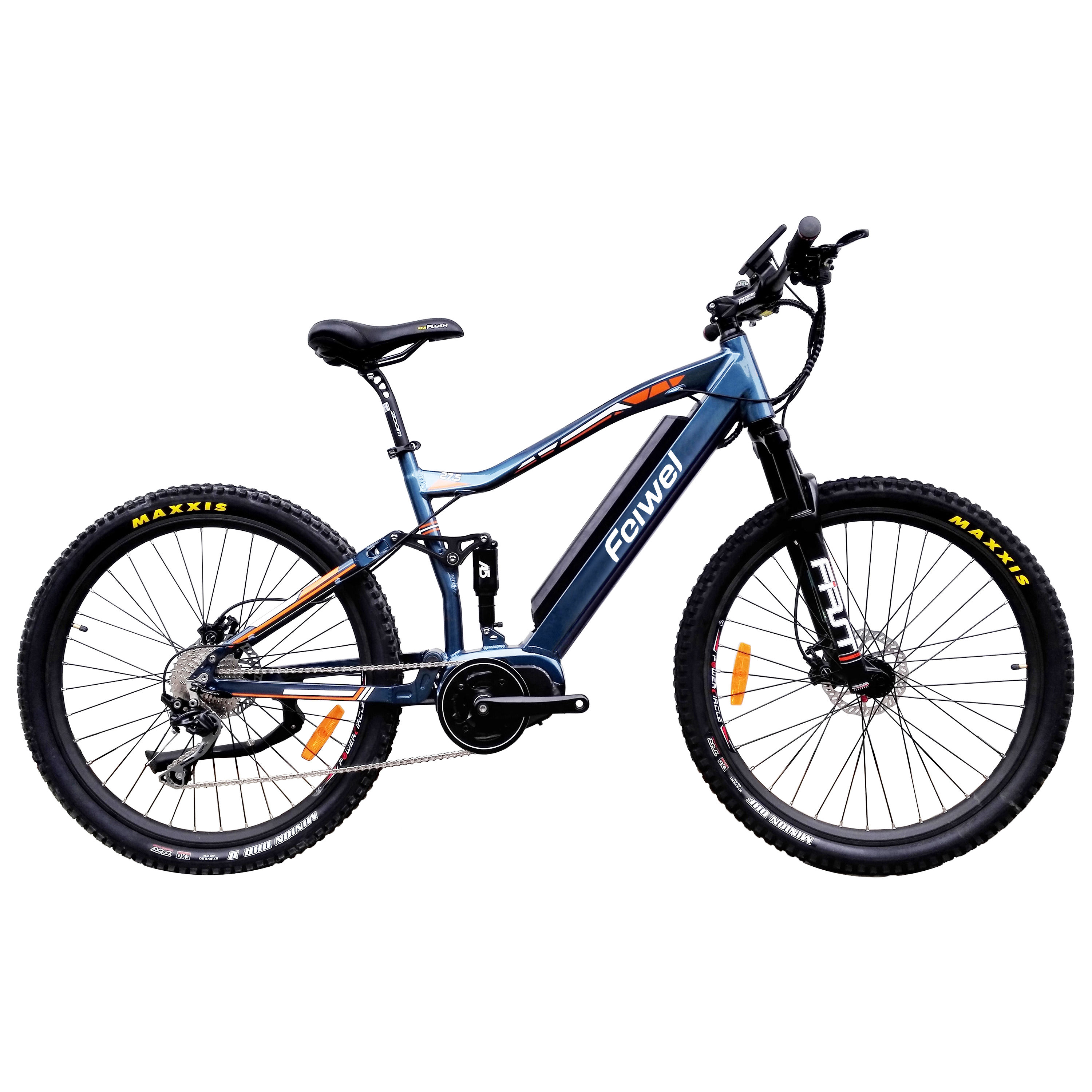 27.5' mountain electric bike 500w/ full suspension electric bicycle/ cheap price best quality mountain e bike