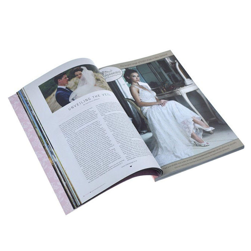 Custom Design Softcover Paperback Wedding Book Printing