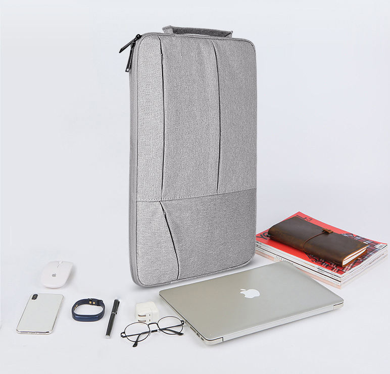 High Quality 360 Protective Laptop Sleeve for MacBook Air Notebook Bag with Accessory Pocket