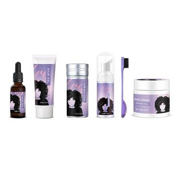 All natural argon oil edge control set private label customize