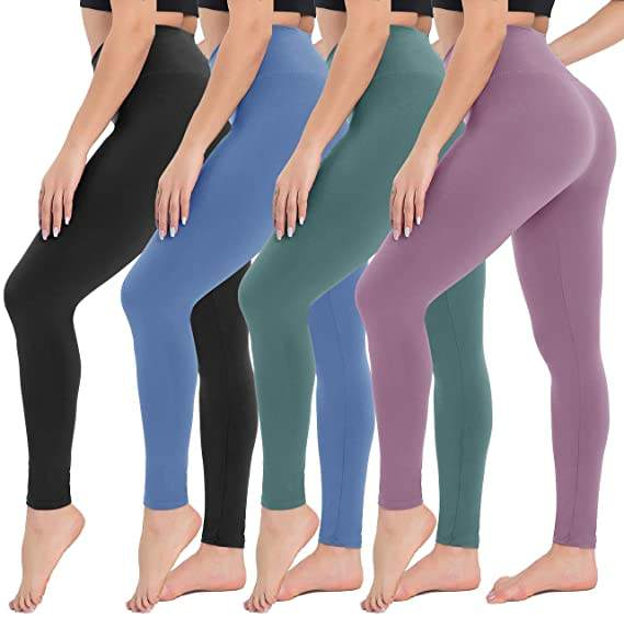 22 Colors Wholesale High Waisted Yoga Pants Super Soft Fitness Workout Leggings for Women