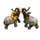 Wedding elephant gift couple elephant ornaments home decor
