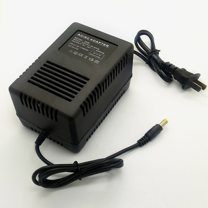 C-Power brand new 110v 220v 24vac power adapter ac to ac 24v 3a 2a