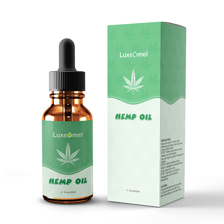 Dropshipping Private Label Wholesale 1000Mg Co2 Hemp Seed 5% 10% 30% Extract Hemp Cbd Oil