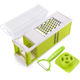Kitchen accessories hot sale Amazon new gadget hand held vegetable cutter slicer vegetable cuboid four side blade fruit and vege