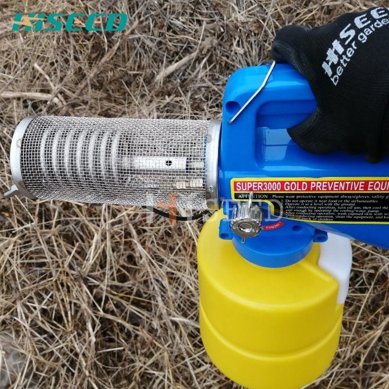 Portable mini pesticide sprayer agricultural thermal fog machine