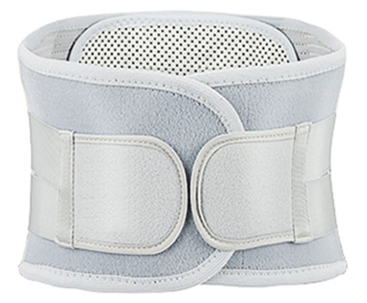 Completo Placa de Alívio Da Dor Médica Respirável Cintura Lower Back Support Brace Belt
