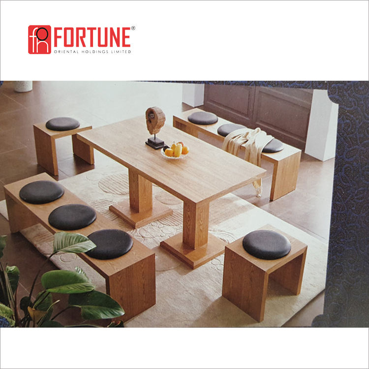japanese tatami chair restaurant wooden chair zaisu floor chair for sale