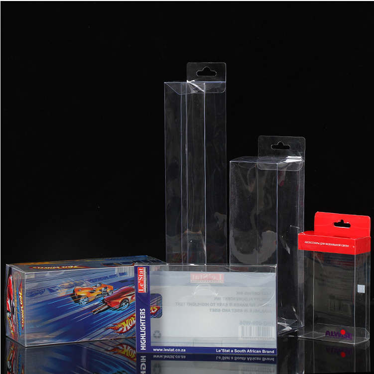 Yiwu Factory Manufacturing PET Pvc Small Clear Packaging Plastic PP Box,PP Plastic Packing Box