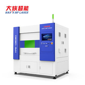 Han's 2021 UNICHCNC factory outlet mall Format Precision Laser Cutting Machine CNC small fiber laser cutting machine