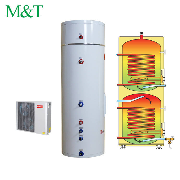 Waterproof bathroom water boiler with electric heater tank 200 litres for shower