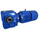 motor engine Drive helical worm right angle gearbox