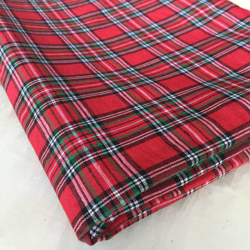 weifang textile james shirting fabric/cotton yarn dyed shirting fabric in warehouse