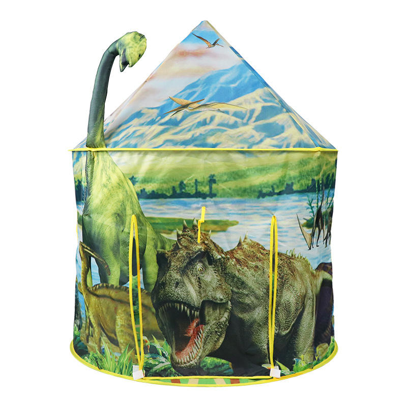Hoge Kwaliteit Populaire Afdrukken Polyester <span class=keywords><strong>Pop</strong></span> Up Kids <span class=keywords><strong>Speelgoed</strong></span> <span class=keywords><strong>Tent</strong></span> En Dinosaurus Cartoon <span class=keywords><strong>Tent</strong></span> <span class=keywords><strong>Speelgoed</strong></span> Speelhuis Voor Kinderen Lezen nook