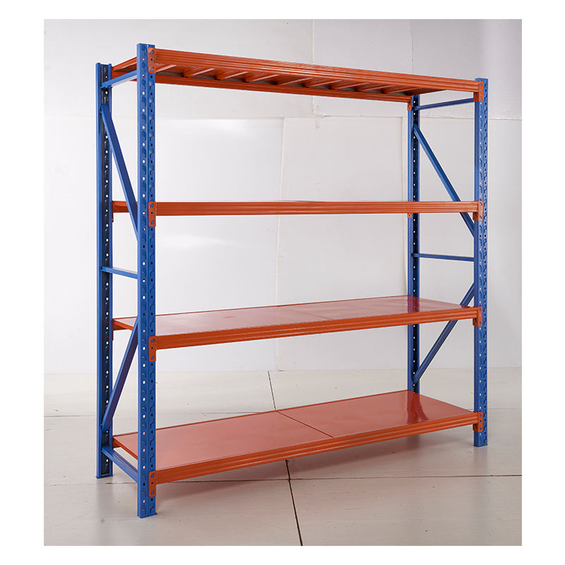 Storage shelves garage 4 layer long span rack system shelving medium duty longspan shelving