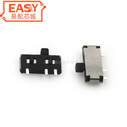 MSK12C01 slide switch horizontal SMD 3 pin micro toggle switch SMT micro slide switch