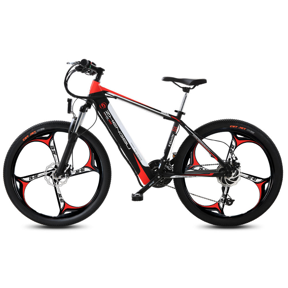 Aluminum alloy 26 inch lithium battery 7 speed brushless motor electric mountain bike electric bicycle Vietnam