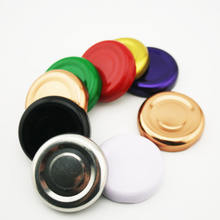 30Mm 38Mm 43Mm 48Mm 53Mm Metal Lid Golden Red White Black Tin Twist Off Lid For Glass Jars