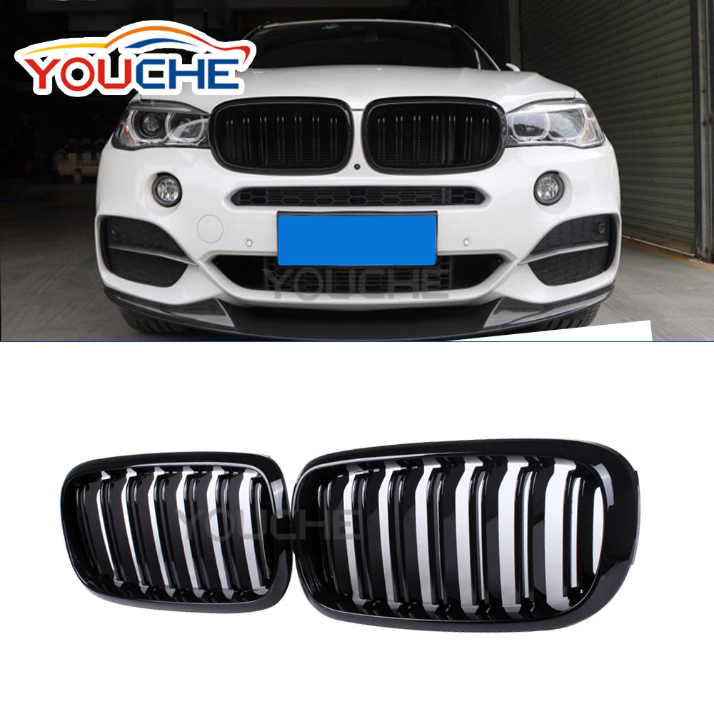 F15 F16 vervanging ABS auto bumper grille voor BMW X serie X5 X6 2015 +