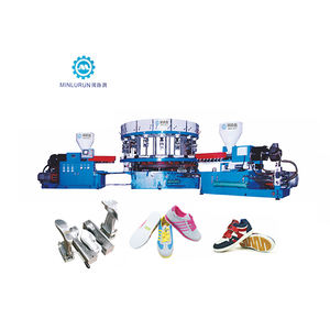 Sport Shoes Making Machine Plastic Pvc TPR Dip Shoe Sole Injection Moulding Machine