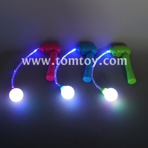 LED brillante Flash Throwing Stick parpadeo varita