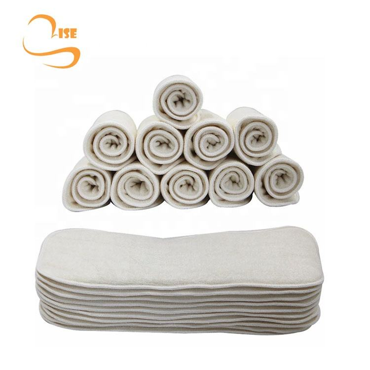 high quality washable bamboo fiber baby diaper inserts