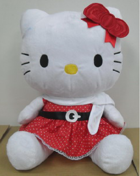 2020 Plush Toy Stuffed kitty for Kids Soft Gift Oem Customized Logo clothes Colorful Color hello kitty plush