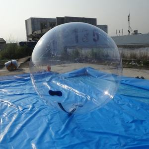 Latest Rental Toy Ball Clear Inflatable Water Walking Ball TPU Aqua Sphere